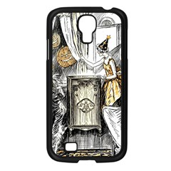 Vintage People Party Celebrate Samsung Galaxy S4 I9500/ I9505 Case (black)