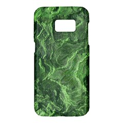 Green Geological Surface Background Samsung Galaxy S7 Hardshell Case