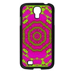 Fern Forest Star Mandala Decorative Samsung Galaxy S4 I9500/ I9505 Case (black)