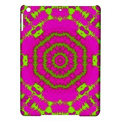 Fern Forest Star Mandala Decorative Ipad Air Hardshell Cases