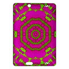 Fern Forest Star Mandala Decorative Amazon Kindle Fire Hd (2013) Hardshell Case
