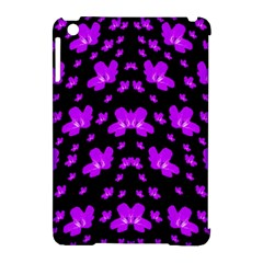 Pretty Flowers Apple Ipad Mini Hardshell Case (compatible With Smart Cover)