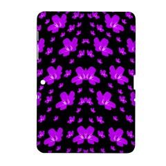 Pretty Flowers Samsung Galaxy Tab 2 (10 1 ) P5100 Hardshell Case