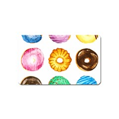 Donuts Magnet (name Card)