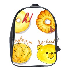 Bread Stickers School Bag (large)