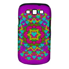 Hearts In A Mandala Scenery Of Fern Samsung Galaxy S Iii Classic Hardshell Case (pc+silicone)