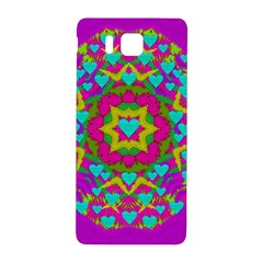Hearts In A Mandala Scenery Of Fern Samsung Galaxy Alpha Hardshell Back Case