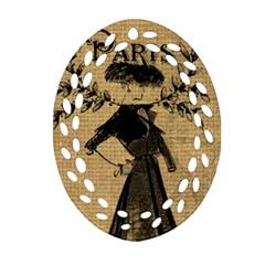 Vintage 1060201 1920 Ornament (oval Filigree)