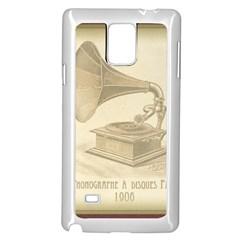 Vintage 979490 1280 Samsung Galaxy Note 4 Case (white)