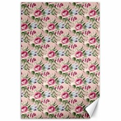 Cute Floral 218a Canvas 20  X 30