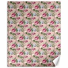 Cute Floral 218a Canvas 11  X 14