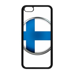 Finland Country Flag Countries Apple Iphone 5c Seamless Case (black)