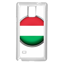 Hungary Flag Country Countries Samsung Galaxy Note 4 Case (white)