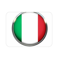 Italy Country Nation Flag Double Sided Flano Blanket (mini)