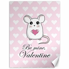 Cute Mouse   Valentines Day Canvas 36  X 48