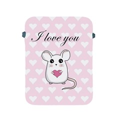 Cute Mouse   Valentines Day Apple Ipad 2/3/4 Protective Soft Cases