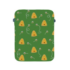 Bee Pattern Apple Ipad 2/3/4 Protective Soft Cases