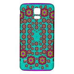 The Worlds Most Beautiful Flower Shower On The Sky Samsung Galaxy S5 Back Case (white)