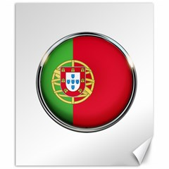 Portugal Flag Country Nation Canvas 20  X 24