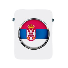 Serbia Flag Icon Europe National Apple Ipad 2/3/4 Protective Soft Cases