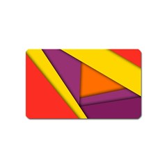 Background Abstract Magnet (name Card)