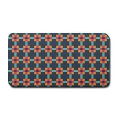 Squares Geometric Abstract Background Medium Bar Mats