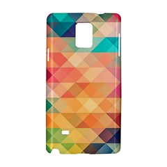 Texture Background Squares Tile Samsung Galaxy Note 4 Hardshell Case
