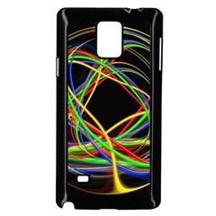 Ball Abstract Pattern Lines Samsung Galaxy Note 4 Case (black)