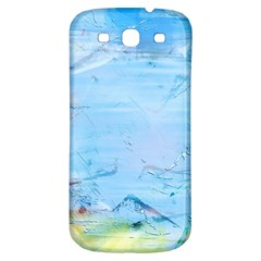 Background Art Abstract Watercolor Samsung Galaxy S3 S Iii Classic Hardshell Back Case
