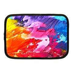 Abstract Art Background Paint Netbook Case (medium)