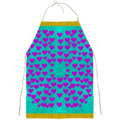 Raining Love And Hearts In The  Wonderful Sky Full Print Aprons