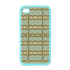 Celtic Wood Knots In Decorative Gold Apple Iphone 4 Case (color)