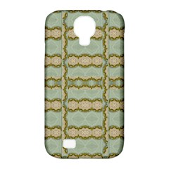Celtic Wood Knots In Decorative Gold Samsung Galaxy S4 Classic Hardshell Case (pc+silicone)