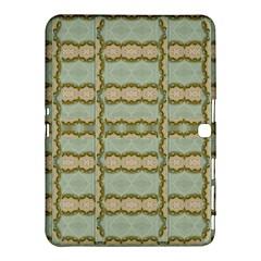 Celtic Wood Knots In Decorative Gold Samsung Galaxy Tab 4 (10 1 ) Hardshell Case