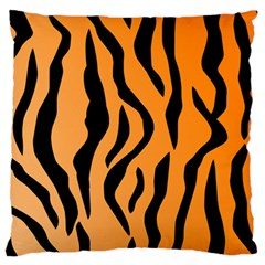 Tiger Fur 2424 100p Large Flano Cushion Case (two Sides)