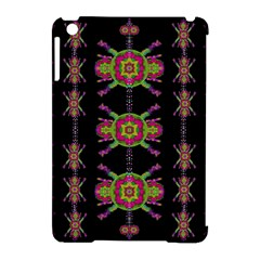 Paradise Flowers In A Decorative Jungle Apple Ipad Mini Hardshell Case (compatible With Smart Cover)