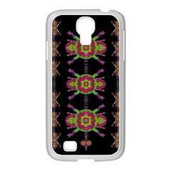 Paradise Flowers In A Decorative Jungle Samsung Galaxy S4 I9500/ I9505 Case (white)