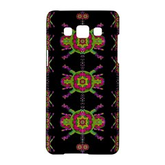Paradise Flowers In A Decorative Jungle Samsung Galaxy A5 Hardshell Case