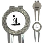 Sowing Love Concept Illustration Small 3-in-1 Golf Divots Front