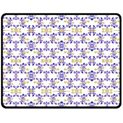 Decorative Ornate Pattern Double Sided Fleece Blanket (medium)