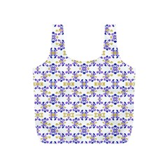 Decorative Ornate Pattern Full Print Recycle Bags (s)