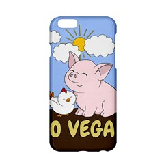 Go Vegan   Cute Pig And Chicken Apple Iphone 6/6s Hardshell Case