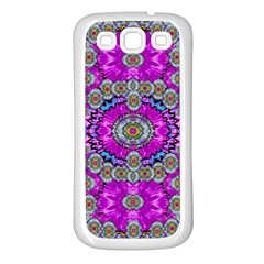 Spring Time In Colors And Decorative Fantasy Bloom Samsung Galaxy S3 Back Case (white)