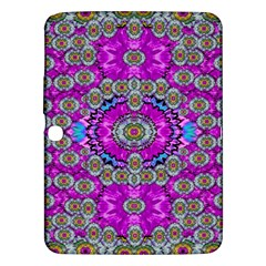 Spring Time In Colors And Decorative Fantasy Bloom Samsung Galaxy Tab 3 (10 1 ) P5200 Hardshell Case