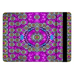 Spring Time In Colors And Decorative Fantasy Bloom Samsung Galaxy Tab Pro 12 2  Flip Case