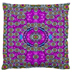 Spring Time In Colors And Decorative Fantasy Bloom Standard Flano Cushion Case (two Sides)