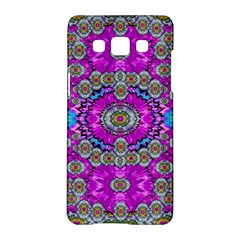 Spring Time In Colors And Decorative Fantasy Bloom Samsung Galaxy A5 Hardshell Case