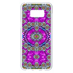 Spring Time In Colors And Decorative Fantasy Bloom Samsung Galaxy S8 Plus White Seamless Case