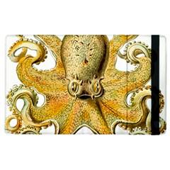 Gold Octopus Apple Ipad 3/4 Flip Case
