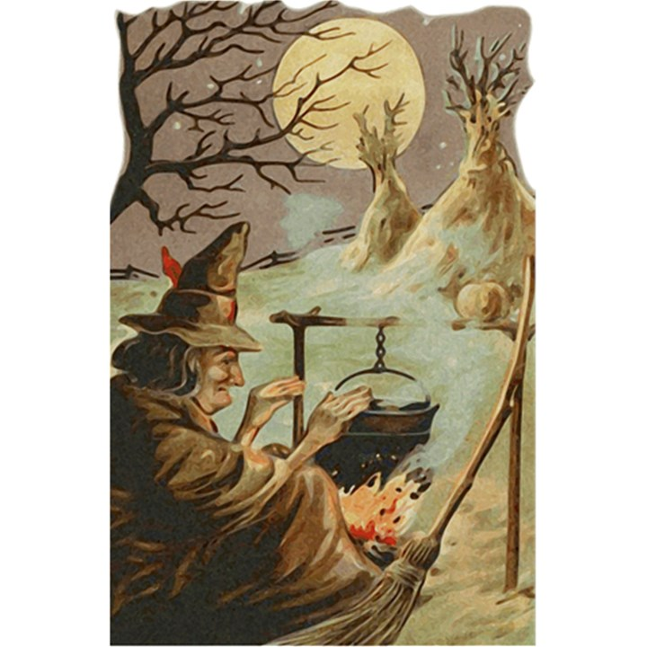 Witch 1461958 1920 5.5  x 8.5  Notebooks